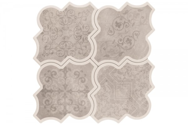 Напольная плитка Realonda Eternity Deco Gris 45x45