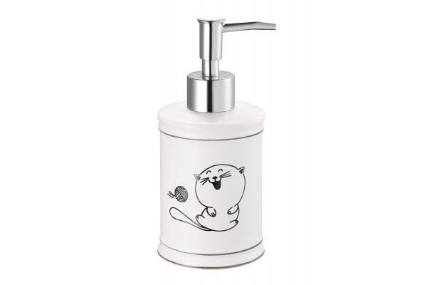 Дозатор для жидкого мыла Fora Happy Cats, настольный, керамика
